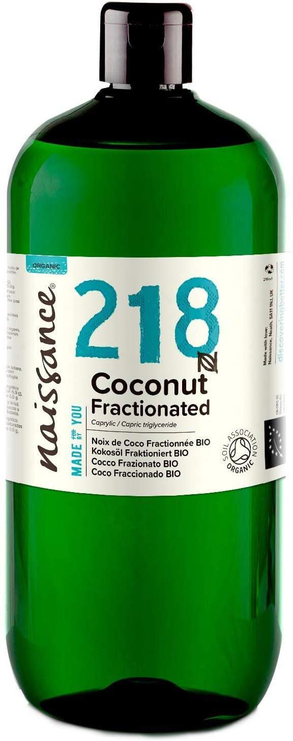 Olio frazionato di cocco biologico - 1 litro Image