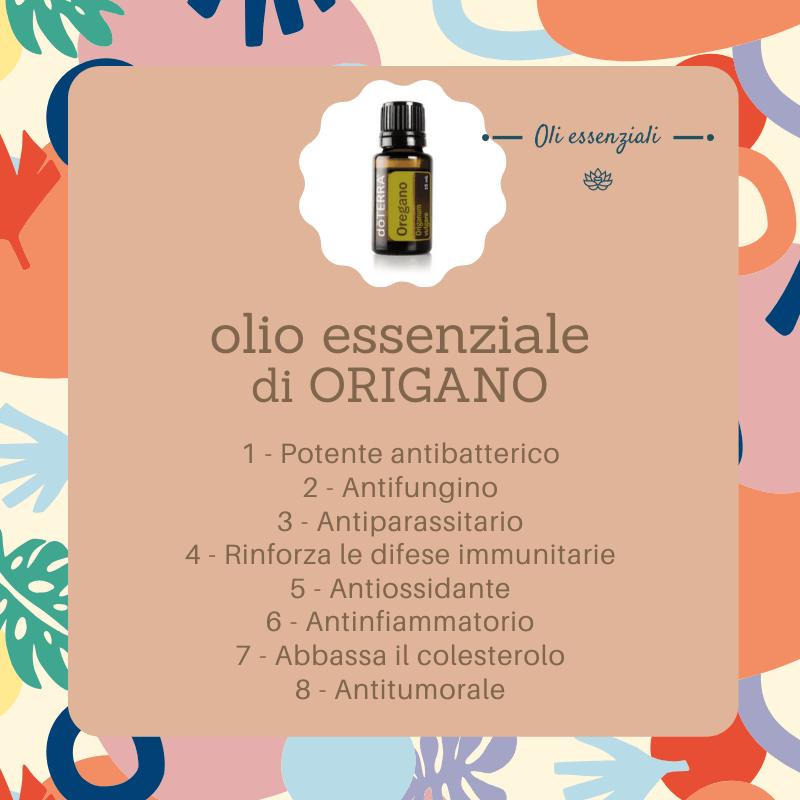 olio essenziale di origano - proprietà benefiche